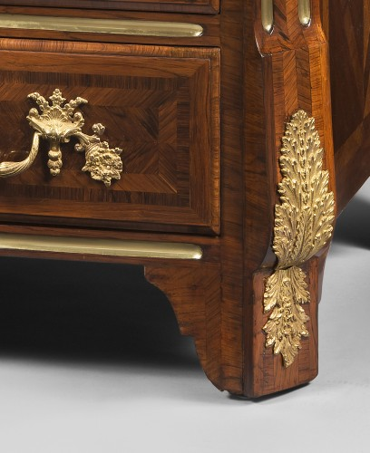 Furniture  - Franch Regency period, Chest of drawers by Thomas Hache