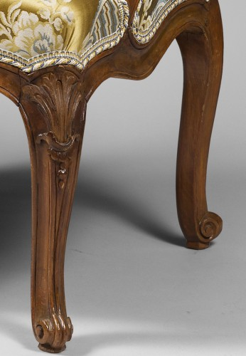Pair of Louis XV period armchairs by Louis Cresson - Seating Style Louis XV