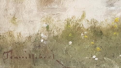Paintings & Drawings  - Paul Désiré Trouillebert (1829-1900) - Along the path