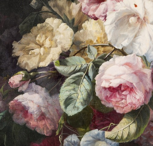 Clément Gontier (1876-1918) - Monumental floral composition - Paintings & Drawings Style