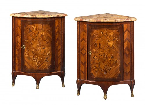 Pair of Encoignures, Paris circa 1760