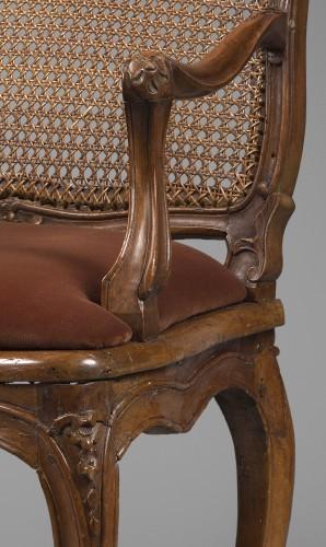 """Seating  - Caned """"Fauteuil de bureau"""" by Etienne Meunier"""