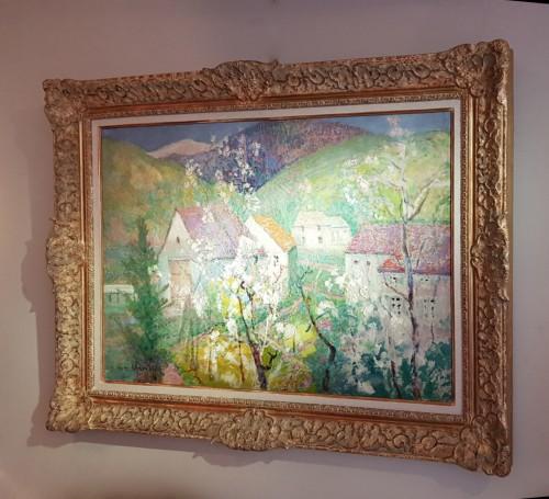 "Victor Charreton (1864-1937) -  ""Matin de printemps"" - Paintings & Drawings Style"