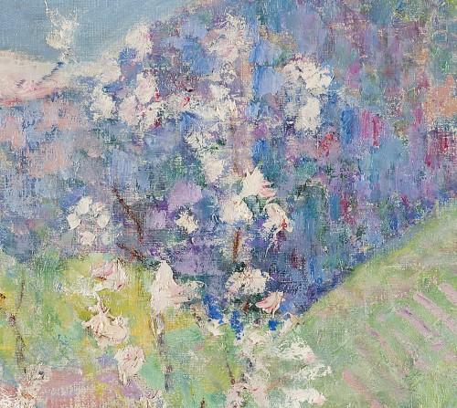 """Victor Charreton (1864-1937) -  """"Matin de printemps"""" -"""