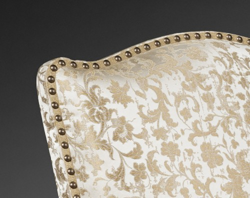Pair of French Régence period giltwood armchairs - French Regence