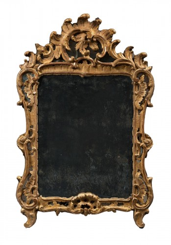 Rocaille Mirror, Louis XV Period