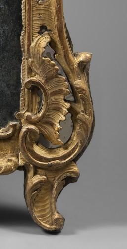 Rocaille Mirror, Louis XV Period - Mirrors, Trumeau Style Louis XV