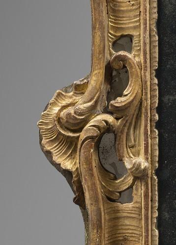 Mirrors, Trumeau  - Rocaille Mirror, Louis XV Period