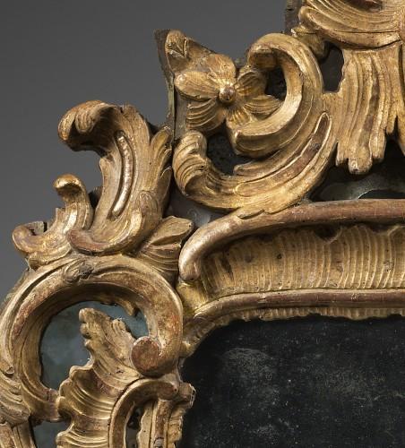 18th century - Rocaille Mirror, Louis XV Period