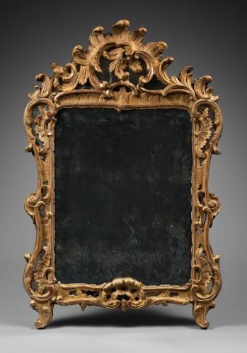 Rocaille Mirror, Louis XV Period - Louis XV
