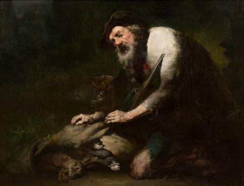 Théodule Augustin Ribot (1823-1891) - The Poacher