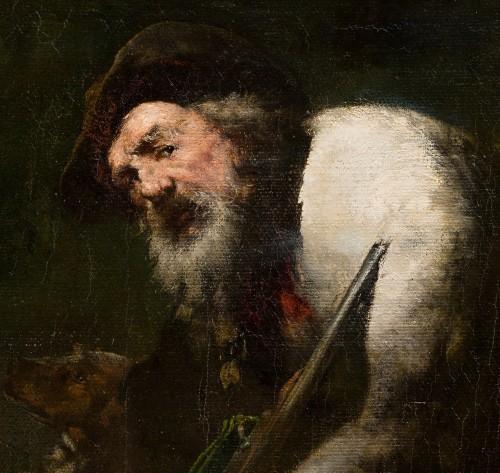 Théodule Augustin Ribot (1823-1891) - The Poacher -