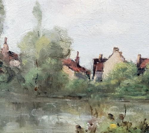Paul-Désiré Trouillebert  (1829-1900) - The Laundresses - Paintings & Drawings Style