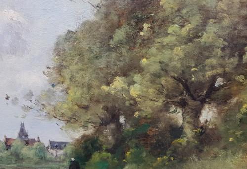 19th century - Paul-Désiré Trouillebert  (1829-1900) - The Laundresses