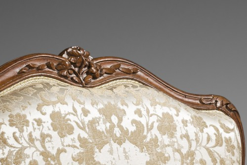 """Seating  - Remarkable Louis XV period """"Marquise"""""""