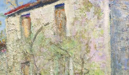 Paintings & Drawings  - Victor Charreton (1864 -1937), Awakening, Dawn in the garden
