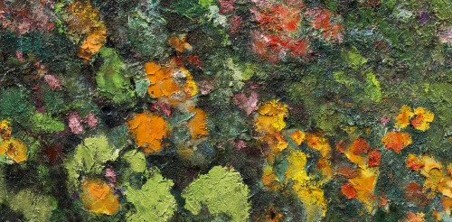 Victor Charreton (1864 -1937), Awakening, Dawn in the garden -