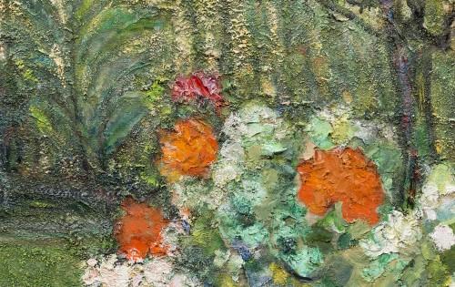 - Victor Charreton (1864 -1937), Awakening, Dawn in the garden