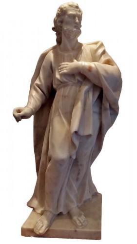Marble statue of San Giuseppe