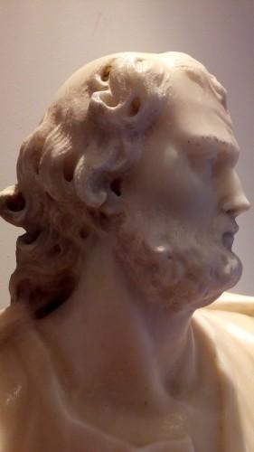 Marble statue of San Giuseppe - Louis XIV