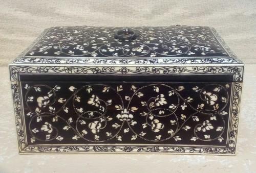 18th century - Indian colonial ebony boxs