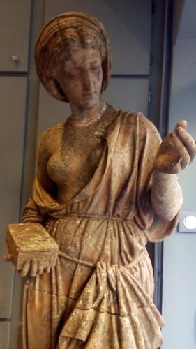 Sculpture  - Antique Pandora statue