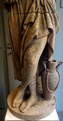 Antique Pandora statue -