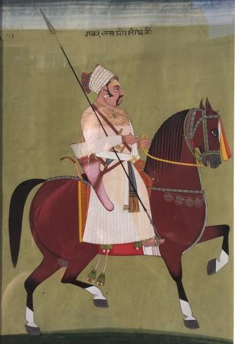 Rajput horse rider