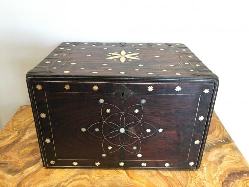 Indo-Portuguese cabinet  - Furniture Style Louis XIV