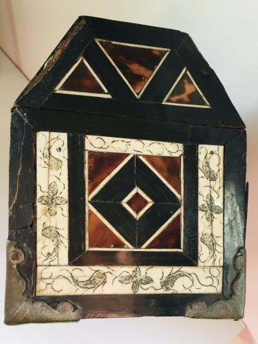 Mexicain colonial casket  - Louis XIV