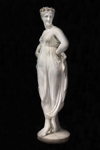 "The «Dancatrice"" of Canova - Sculpture Style Restauration - Charles X"