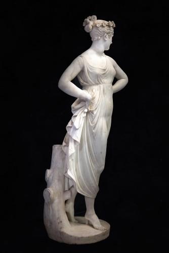 "Sculpture  - The «Dancatrice"" of Canova"