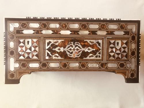 Ottoman casket  - Curiosities Style Louis XIV