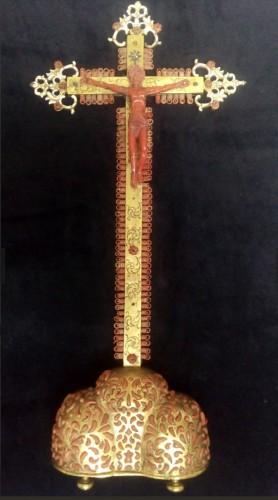 Sicilian coral Christ