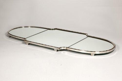 """""""Surtout de table"""" in silver XIXth by Aucoc"""