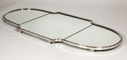 """""""Surtout de table"""" in silver XIXth by Aucoc - Antique Silver Style"""
