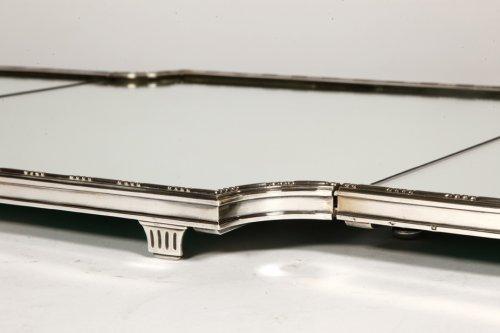 """Antique Silver  - """"Surtout de table"""" in silver XIXth by Aucoc"""