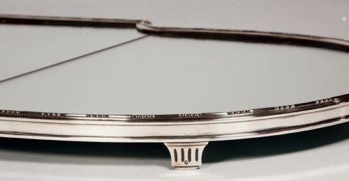 """""""Surtout de table"""" in silver XIXth by Aucoc -"""