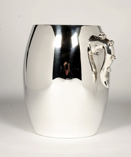 Antique Silver  - Cooler in solid silver, circa 1990, by Bonetti and Garouste