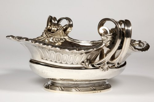 Antique Silver  - Centerpiece in sterling silver, XIXth by A. Aucoc