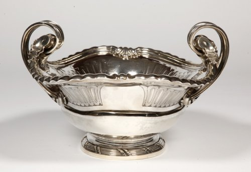 19th century - Centerpiece in sterling silver, XIXth by A. Aucoc