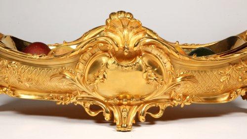 Antique Silver  - Jardiniere in gilt bronze, Napoléon the third