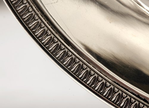 20th century - Pair of silver sauceboats, 20th, by Tétard
