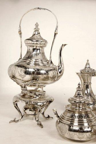Ottoman tea/coffee set  by Duponchel, - XIXth -
