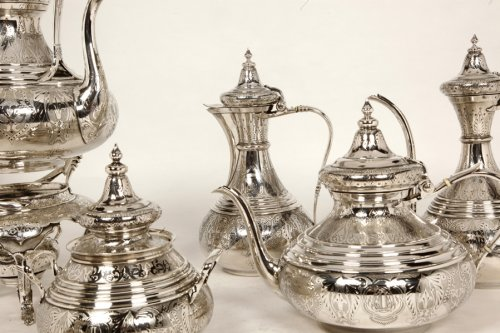 Antiquités - Ottoman tea/coffee set  by Duponchel, - XIXth