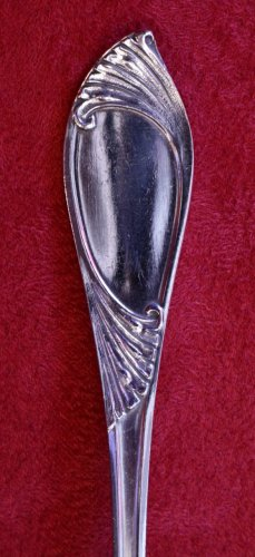Antiquités - Flatware set in silver  - Art Nouveau by Debain 271 pieces