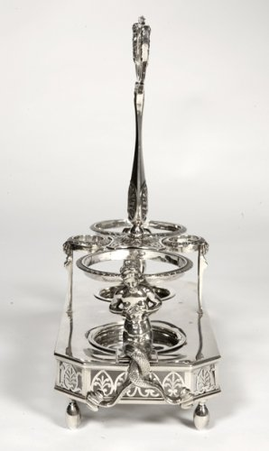 Antique Silver  - Silver oiler- Empire period - by Abel Etienne Giroux