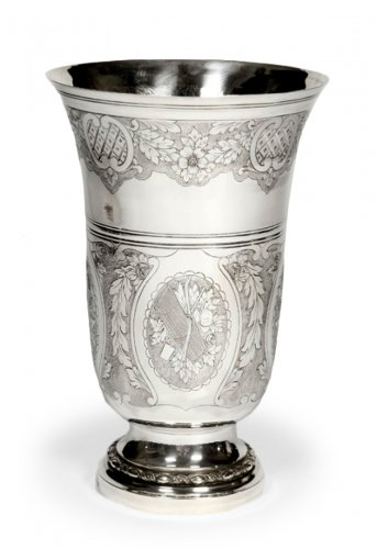Silver vase - Early XXth - by Bointaburet