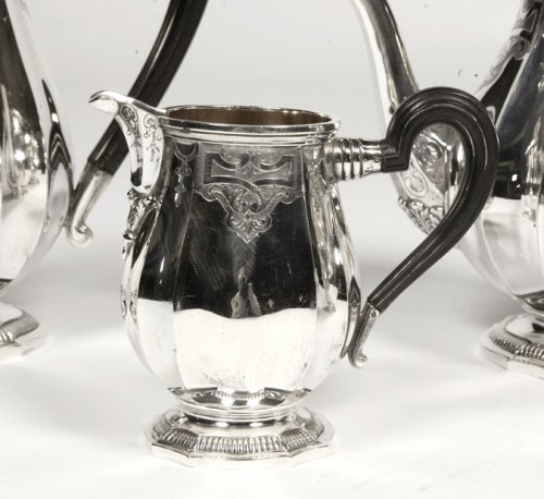 Antique Silver  - Service the / coffee silver - late xix by Broliquier and Rodet