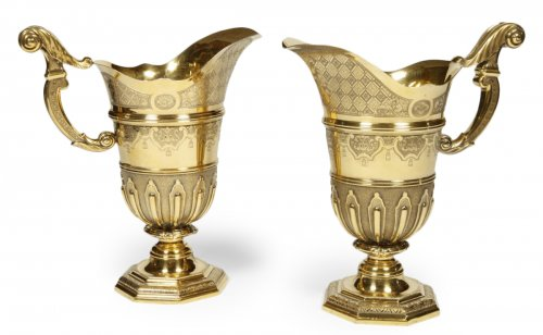 Pair of Hanaps late 19th century by PUIFORCAT